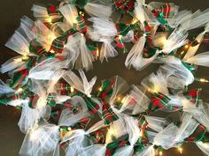 Transform an Ordinary String of Lights Into a Lighted Garland
