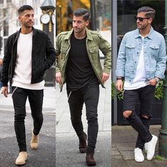 1 2 or 3? What's your favorite? Follow @mensfashion_guide for more! By @kosta_williams #mensfashion_guide #mensguides