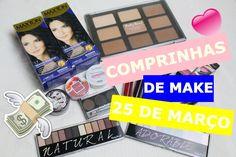 Comprinhas na 25 de Março de Maquiagem |Novidades | Setembro 2016💄👛💋❤️