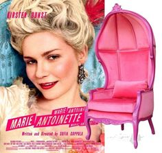 Movies & Chairs: Marie Antoinette