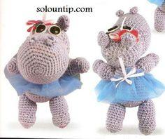 Amigurumis a crochet patrón en español ~ Solountip.com