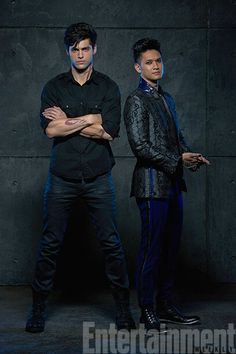 I'm so freaking excited for the shadowhunters tv show! I'm feeling they nailed the Magnus and Alec casting! #Malec