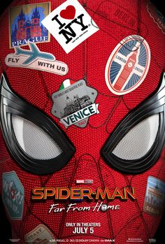 The Spider-Man: Far From Home movie trailer sees Tom Holland return as Peter Parker to kick off Phase 4 of the Marvel Cinematic Universe. Spider Man 2, Free Spider, Jake Gyllenhaal, Kino Box, Films Marvel, Film Gif, Film Movie, Kino Film, Nick Fury
