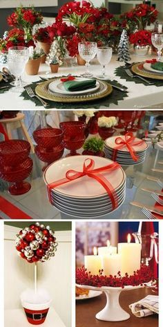 In this DIY tutorial, we will show you how to make Christmas decorations for your home. Christmas Decorations For The Home, Christmas Table Settings, New Years Decorations, Christmas Tablescapes, Holiday Decor, Christmas Dinner Set, Christmas Room, Christmas Holidays, Christmas Crafts