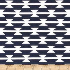 Art Gallery Arizona Jersey Knit Tomahawk Stripe Fabric