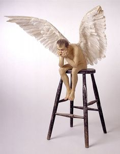 Cave to Canvas, Ron Mueck, Angel, 1997