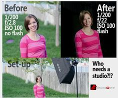 """How to Get that """"Photo Studio Look"""" Without a Photo Studio - Improve Photography 