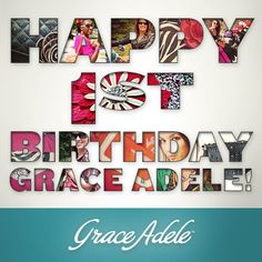 One year ago today ‪#‎GraceAdele‬ was launched! Since then, we've been inspired by the hundreds of photos you've shared with us that feature the beautiful Grace Adele looks you wear. Here is to another year full of spectacular style!