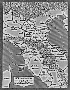 North and Central Italy in Machiavelli's times