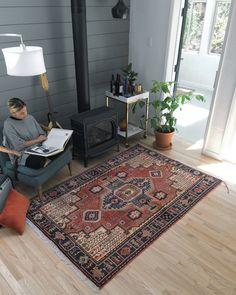 """Maryam"" #persianrug #vintage #homedecor #design #decor #persian #persiancarpet #joonrugs"