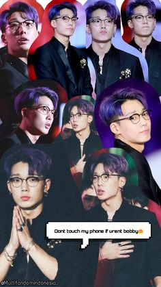 Wallpaper / Lockscreen Bobby Ikon Kim Jinhwan, Chanwoo Ikon, Ikon Wallpaper, Wallpaper Lockscreen, Wallpapers, Mixing Paint Colors, Double B, Taemin, Monsta X