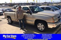 Congratulations Billy on your #Chevrolet #Silverado 1500 from Eric Twigg at My Car Store!  https://deliverymaxx.com/DealerReviews.aspx?DealerCode=OUVL  #MyCarStore