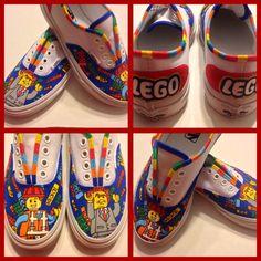 Lego Movie Inspired Vans: Emmett & Lord Business
