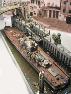 1/35 boat, marines landing, supplies, taking cover details