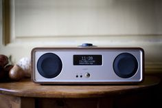 Ruark Audio R2 MK3 music system in rich walnut. With internet radio giving you access to thousands of radio stations