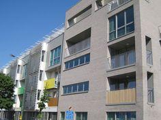 Project: 41 appartementen, Ukkel (BE) Architekt : Bur Aedes - Dhr. F. VanHove Aannemer: L. DeWaele Baksteen: 75. Quartis Zero