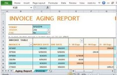 accounts receivable aging report template