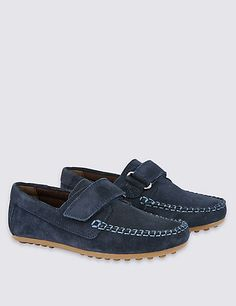 Kids' Water Repellent Suede Riptape Shoes £26