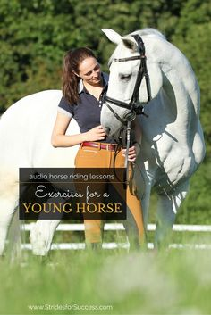 What an honour it is the be the person that gets to start your young horse off on his career under the saddle! Some tips and exercises to help smooth those initial bumps ;)