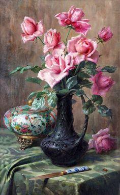 Olá amigos,     Especialmente para vocês uma seleção de belíssimas pinturas feitas por vários artistas. O que elas têm em comum?   O talen...