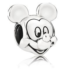 I want this to remind me of Noah B since it's his favorite character!  Mickey Mouse Portrait Charm by PANDORA