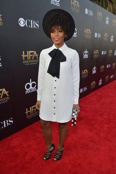 Pin for Later: Toutes Nos Stars Favorites Ont Assisté Aux Hollywood Film Awards Janelle Monae