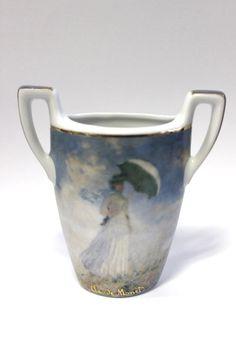 Porzellan Vase der Marke Gobel Guter gebrauchter Zustand Abmessung ca. H=8,8 cm