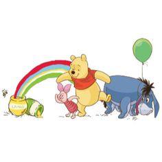 Piglet, Winnie The Pooh & Eeyore Disney Babys, Baby Disney, Wallpaper Iphone Cute, Cellphone Wallpaper, Eeyore, Tigger, Bff Drawings, School Painting, Paddington Bear