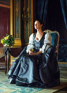 Caitriona Balfe in 'Dragonfly in Amber'