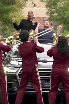 Will Smith Gets Jiggy With a Full Marching Band During Carpool Karaoke