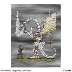 Mechanical Dragon Jigsaw Puzzle