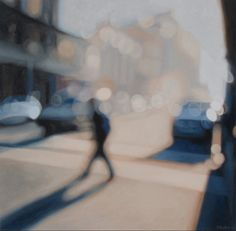 """""""Luminary"""" by Philip Barlow. Oil on canvas. 100 x 100cm."""
