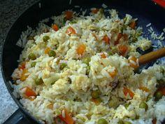 Vaječná rýže :: Domací kuchařka - vyzkoušené recepty