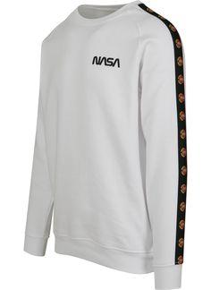 Nasa pulóver, NASA , Mister Tee, MT863 white, 14.998 Ft divat webáruház, divat webshop, online vásárlás, www.trendcity.hu Online Vásárlás, Nasa, Adidas Jacket, Hip Hop, Athletic, Leggings, Sweatshirts, Sweaters, Jackets