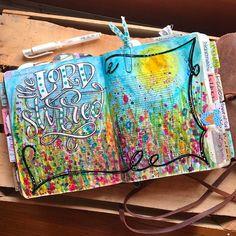 Bible Journaling by @christinasalive