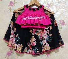 Cute Little Girls Outfits, Stylish Dresses For Girls, Frocks For Girls, Dresses Kids Girl, Kids Outfits, Kids Lehanga Design, Girls Frock Design, Baby Dress Design, Lehanga For Kids