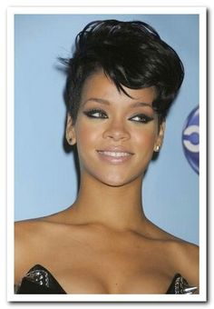 Rihanna hair styles are beautiful