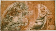 Correggio; The Annunciation