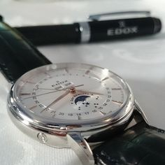 Edox Les Bémonts Moonphase Moon Phases, Watches, Luxury, Accessories, Art, Wrist Watches, Art Background, Wristwatches, Tag Watches