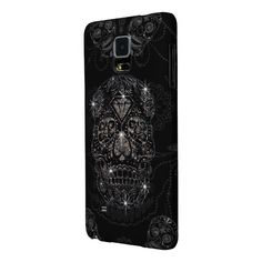 Samsung Galaxy Note 4 - Cover DiamondSkull Black Capas Galaxy Note 4