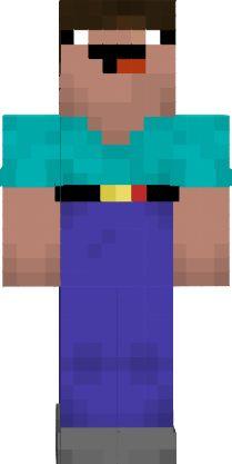 Nub Win 10 Skin Nova Skin Minecraft Skins Cool Minecraft Skins Minecraft Funny