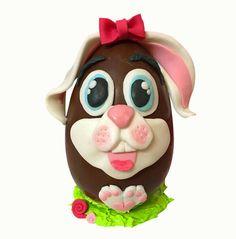 Terry's Chocolate Orange, Chocolate Art, Easter Chocolate, Easter Cupcakes, Easter Cookies, Huevos Chocolate, Chocolates, Eastern Eggs, Sugar Eggs For Easter
