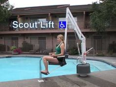 """Scout Pool Lift is a perfect ADA solution for existing anchors. Independently verified to be ADA Compliant, The Scout Lift is designed to be used in retro-fit applications.    If your facility needs to become ADA compliant and you already have an existing 6"""" deep anchor, then The Scout is your solution. The Scout eliminates the need for anchor installation by utilizing almost any existing 1.9"""" x 6"""" deep anchor. Also available are adapter sleeves to accommodate larger and deeper diameter…"""
