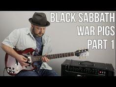 """Black Sabbath """"War Pigs"""" Guitar Lesson Part 1 (Intro, Verse, Chorus) Guitar Chord Chart, Guitar Chords, Basic Guitar Lessons, War Pigs, Guitar Exercises, Guitar Quotes, Chuck Berry, Guitar Tips, Black Sabbath"""