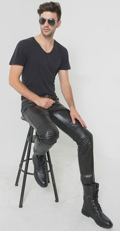 THE SOUND OF BOOTS AND LEATHER