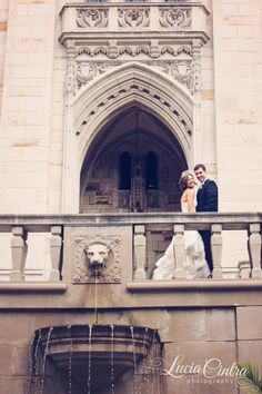 Pittsburgh Wedding - Cathedral of Learning - © Lucia Cintra Photography - www.luciacintra.com