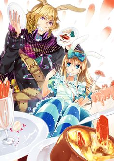 """Alice and Elliot"" - Alice in the Country of Hearts, manga, game, anime"