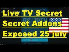 Secrect kept Addons, Secret kept Repository, all Exposed kodi 25 july 2017