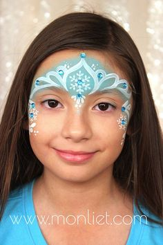When you think about face painting designs, you probably think about simple kids face painting designs. Many people do not realize that face painting designs go Disney Face Painting, Princess Face Painting, Christmas Face Painting, Girl Face Painting, Face Painting Designs, Painting For Kids, Body Painting, Simple Face Painting, Face Paintings