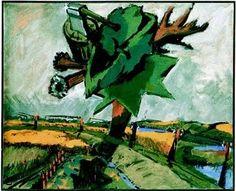 """Markus Lüpertz,  """"Stil - Schiff"""" Galerie Michael Werner"""
